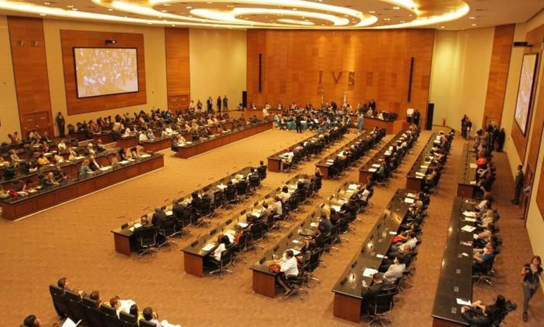 Auditório do Tribunal de Justiça do Rio de Janeiro Foto: Divulgação