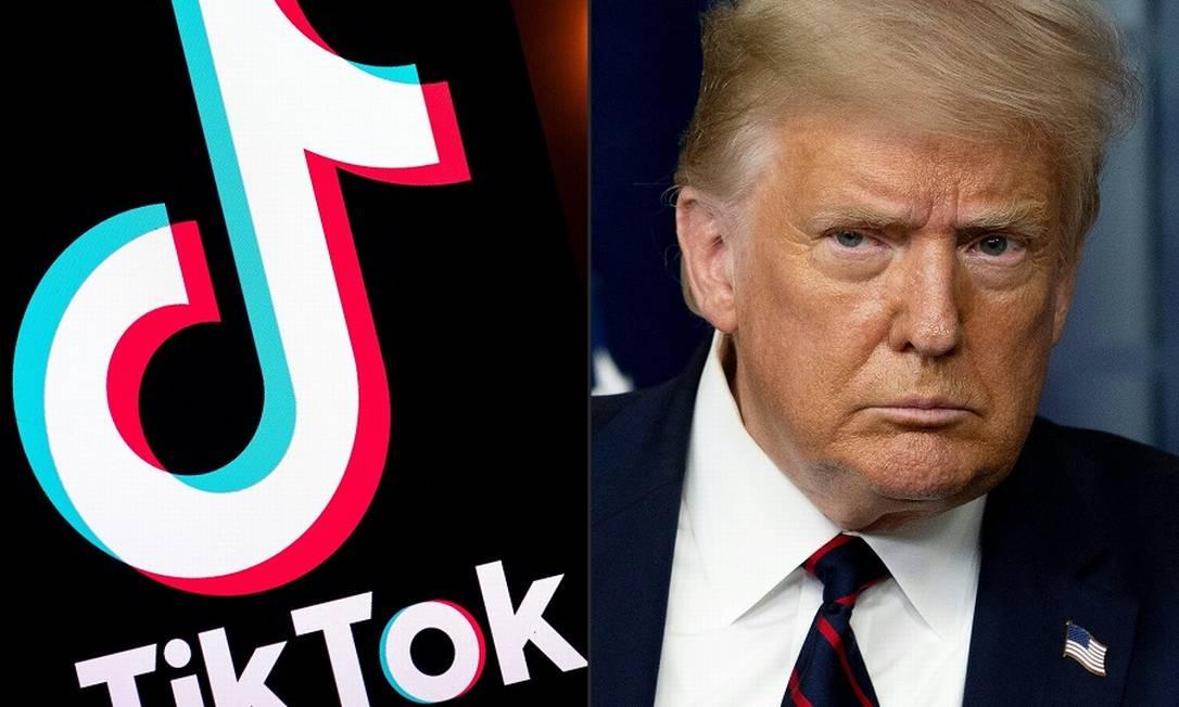 TikTok não quer ir embora dos EUA, apesar das ameaças de proibição de Trump. Foto: AFP