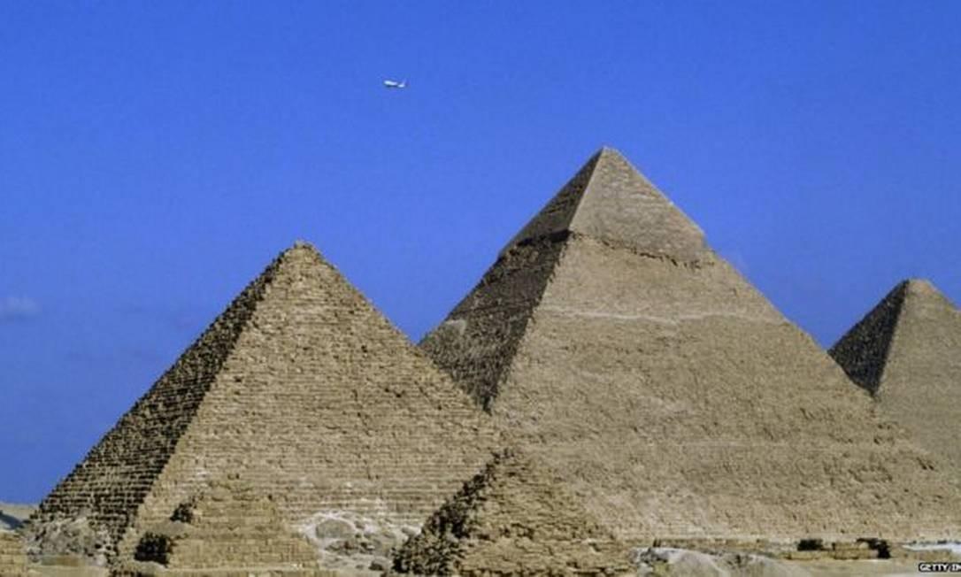 Os túmulos dos faraós foram construídos milhares de anos atrás Foto: Getty Images