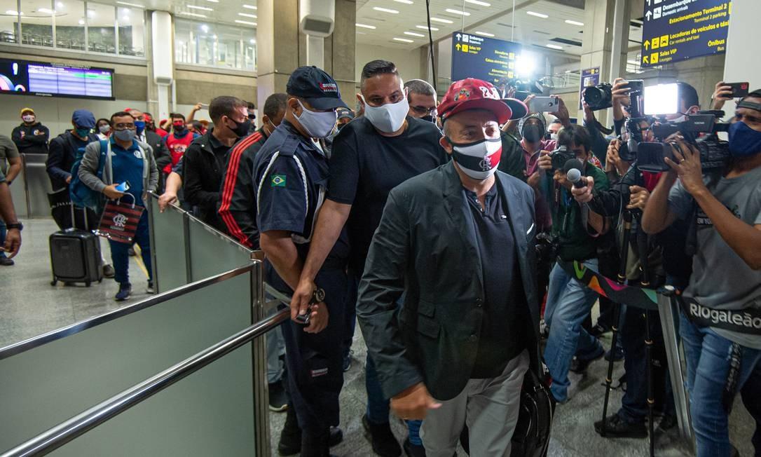 Domènec Torrent é o 12º técnico estrangeiro da história do rubro-negro e o primeiro espanhol Foto: Alexandre Vidal / Flamengo