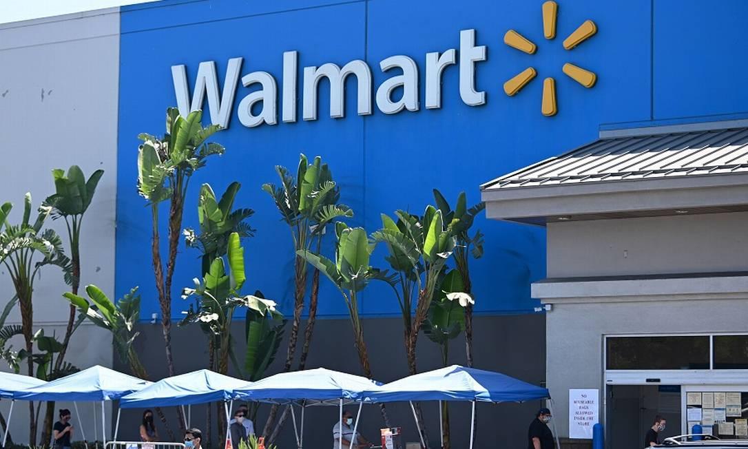 Walmart: donos têm mais de US$ 200 bilhões. Foto: ROBYN BECK / AFP
