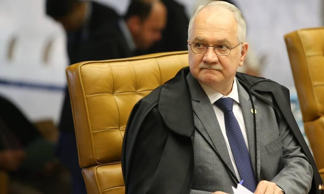 Edson Fachin, ministro do STF Foto: Ailton de Freitas / Agência O Globo