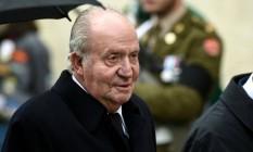 Juan Carlos em foto de maio de 2019: investigado, rei emérito vai deixar a Espanha Foto: JOHN THYS / AFP