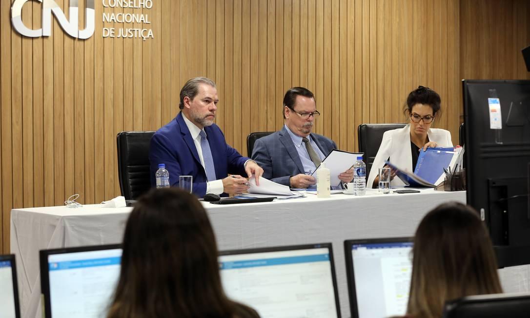 Sessão extraordinária do Conselho Nacional de Justiça (CNJ) Foto: G Dettmar / Flickr CNJ