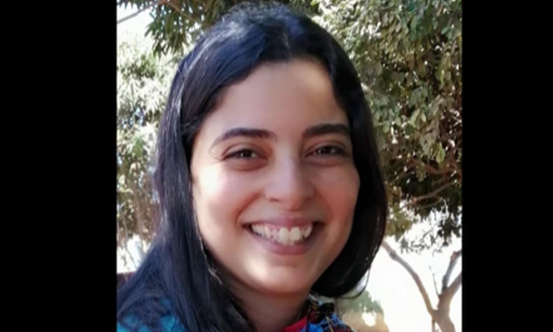 Natalie Nassif mora no Líbano desde janeiro de 2014 e ensina português para estrangeiros no Centro Cultural Brasileiro Foto: Reprodução