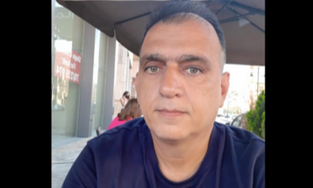 Engenheiro brasileiro Sam Sbaite, de 49 anos, trabalha na zona portuária de Beirute, local da explosão Foto: Reprodução