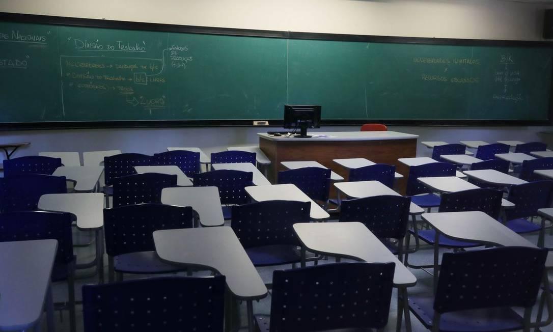 Escolas estão fechadas desde março Foto: Amanda Perobelli / Reuters