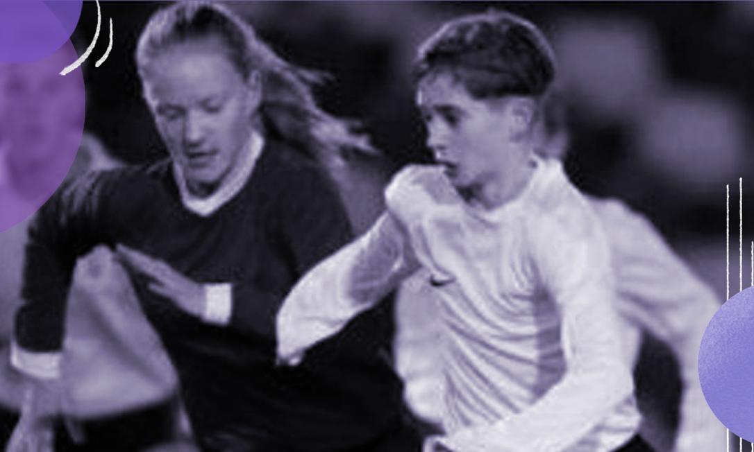 A jovem Ellen Fokkema, de 19 anos, à esquerda Foto: Divulgação/KNVB