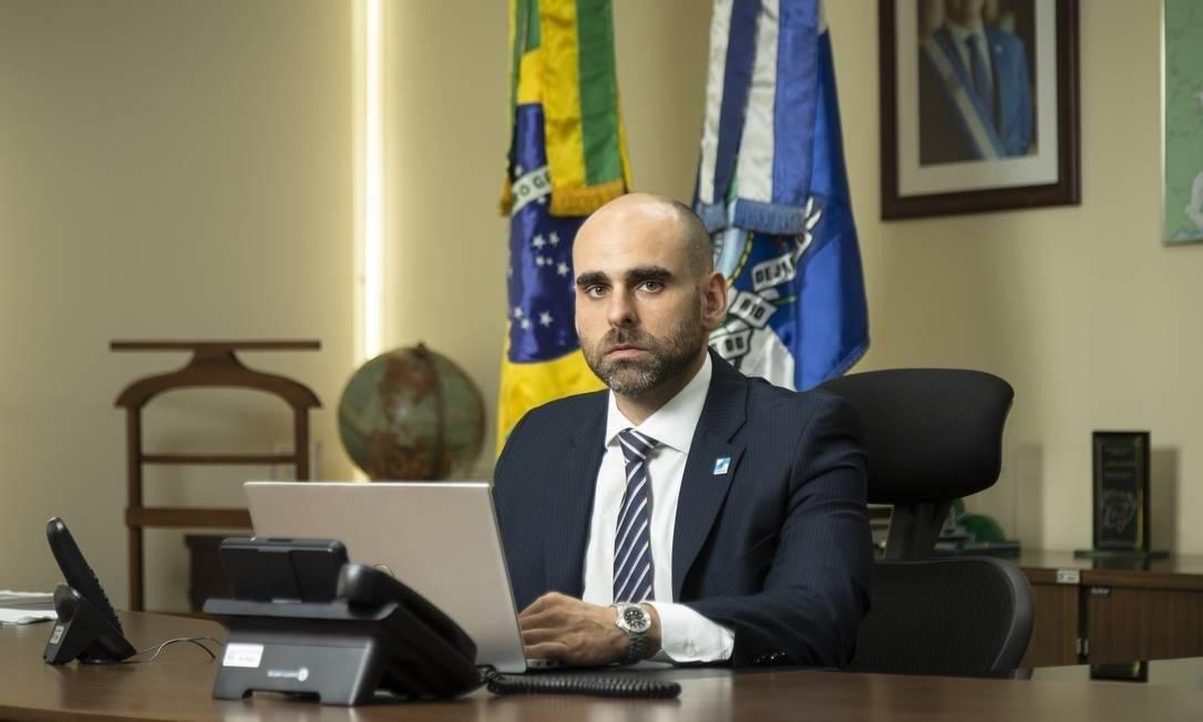 O secretário estadual de Fazenda, Guilherme Mercês Foto: Leo Martins / Agência O Globo