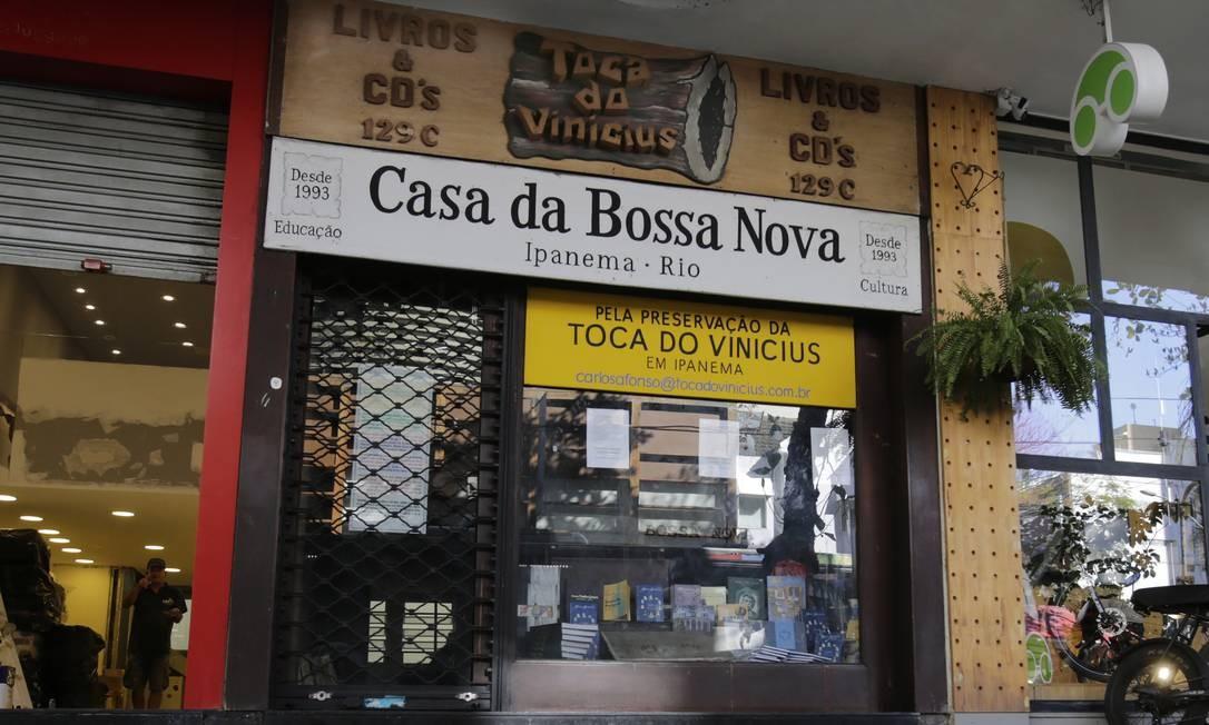 Toca do Vinicius, em Ipanema, fecha as portas Foto: Antonio Scorza / Agência O Globo