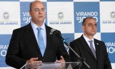 Wilson Witzel e Edmar Santos Foto: Divulgação