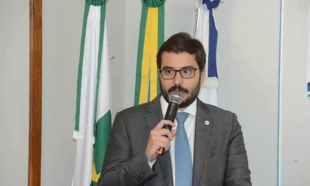 Rodrigo Sergio Dias Foto: Reprodução / Funasa