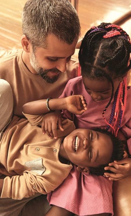 Parte da família Ewbank-Gagliasso Foto: Wendy Andrade