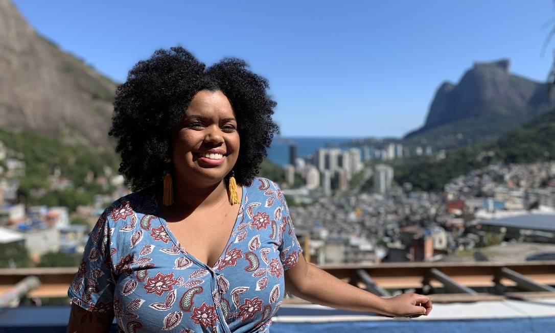 A influenciadora digital Bruna Dias, da Rocinha Foto: Divulgação / Divulgação / Rose Dias