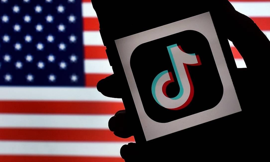TikTok: ordem executiva contra ele e o WeChat nos EUA. Foto: OLIVIER DOULIERY / AFP