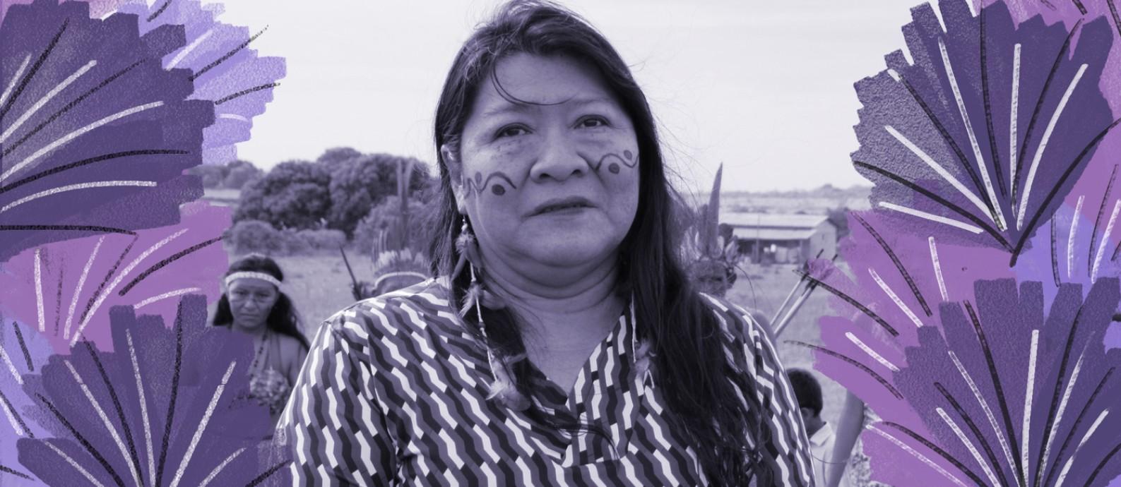 'Os povos indígenas enfrentam o pior momento da história desde a Constituiçãode 88', avalia a deputada federal Joênia Wapichana (Rede-RR) Foto: Mayra Wapichana/Divulgação