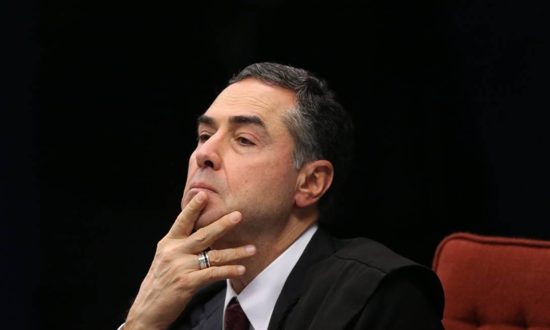 Ministro Luís Roberto Barroso, presidente do TSE e relator do caso sobre distribuição do fundo eleitoral para candidaturas negras Foto: Ailton de Freitas / Agência O Globo