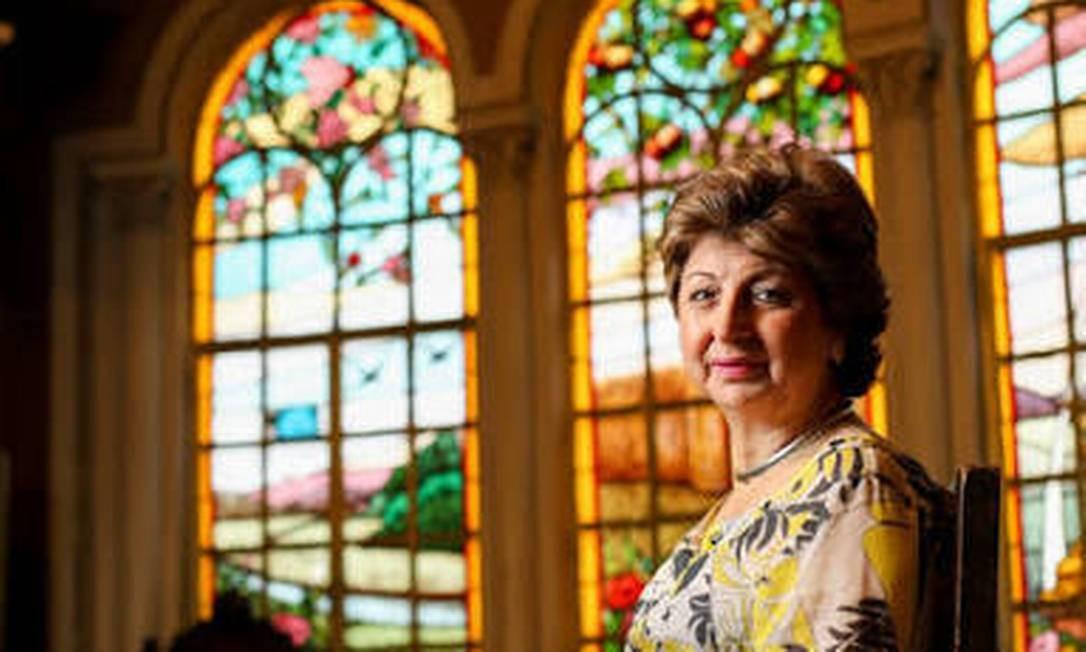 Lody Brais, presidente da Associação Cultural Brasil-Líbano, é membro engajada da comunidade libanesa em SP Foto: Arquivo Pessoal