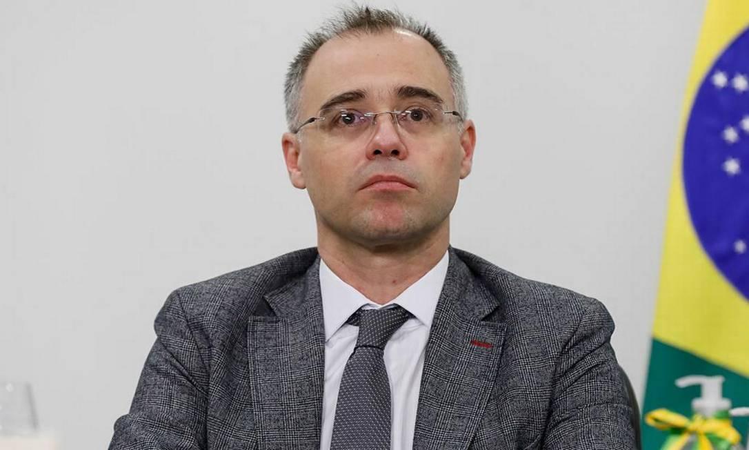 Dossiê foi elaborado na gestão de André Mendonça no Ministério da Justiça Foto: Isac Nóbrega/PR