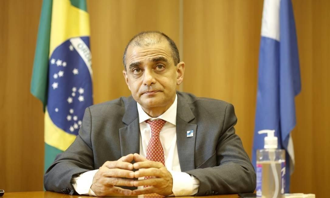 Edmar Santos, ex-secretário estadual de Saúde Foto: Fabio Rossi / Agência O Globo