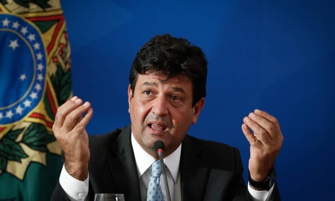 O ex-ministro da Saúde Luiz Henrique Mandetta Foto: Pablo Jacob / Agência O Globo