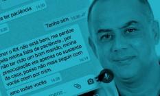 O técnico em enfermagem Hiran Rodrigues Lima, de 47 anos. Foto: Arquivo Pessoal