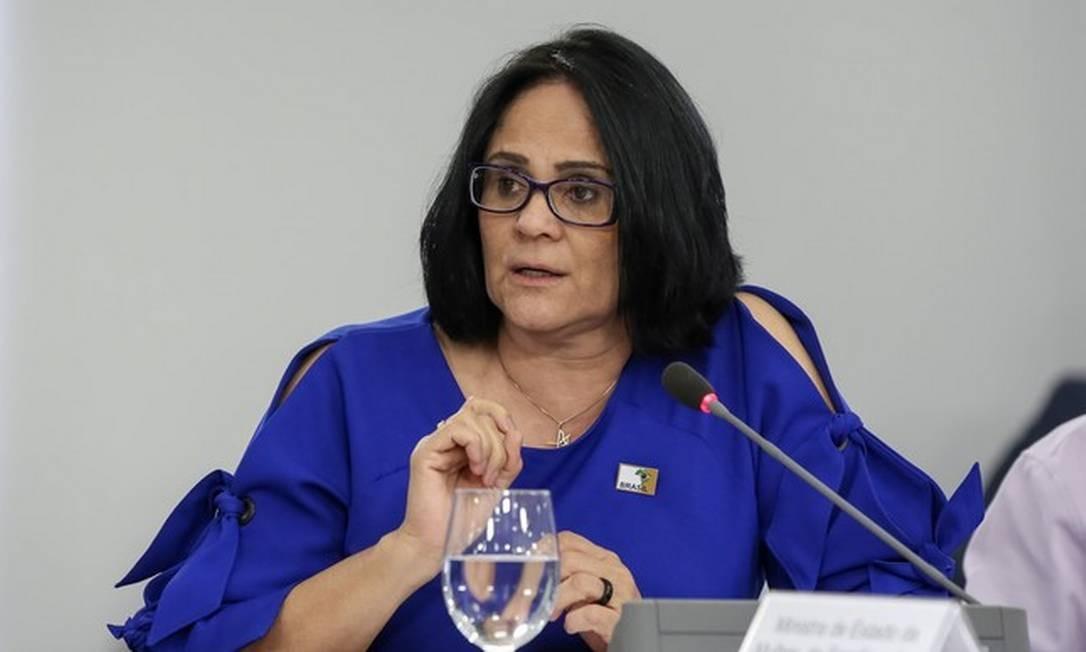 A ministra Damares Alves Foto: Marcos Corrêa / Divulgação / PR