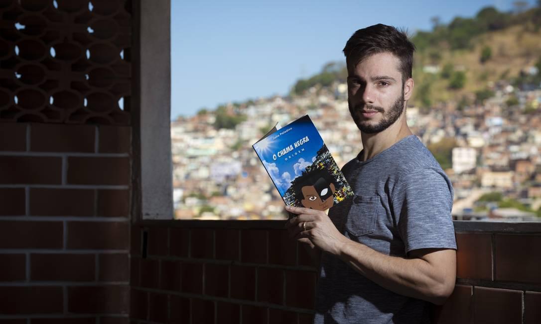 Professor Julio Paladino, criador do Chama Negra Foto: Leo Martins / Agência O Globo