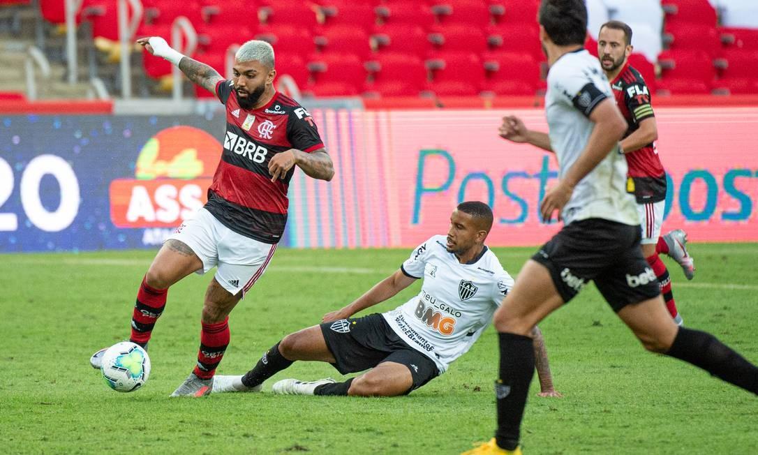Flamengo inicia a era Dome com derrota para o Atlético-MG no Maracanã -  Jornal O Globo