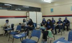 Manaus é a primeira capital a reabrir escolas no país Foto: Eliana Nascimento/G1