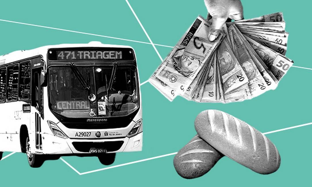 A 'nova CPMF' vai acabar recaindo sobre itens do dia a dia, como pão francês e passagem de ônibus Foto: .
