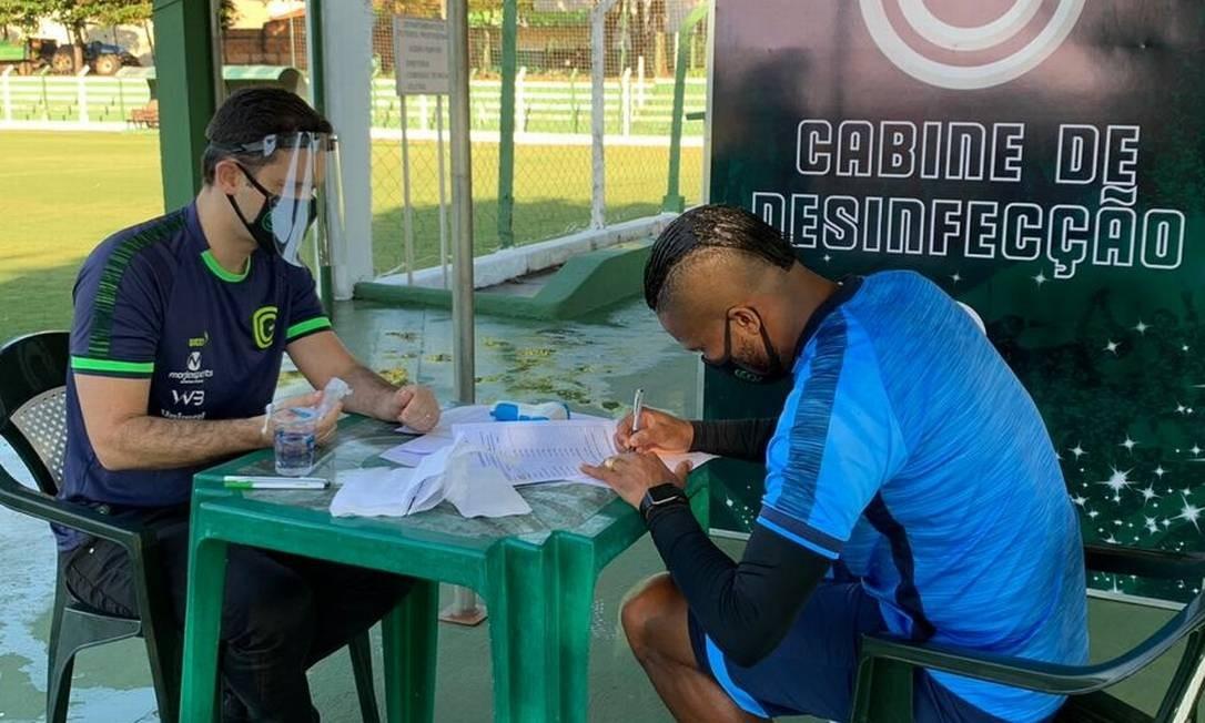 Goiás foi submetido a mais testes Foto: Divulgação/Goiás
