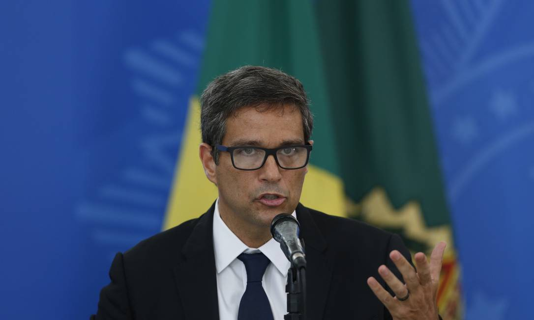 Campos Neto afirmou que a retomada do Brasil será mais rápida do que de outros países emergentes Foto: Pablo Jacob / Pablo Jacob