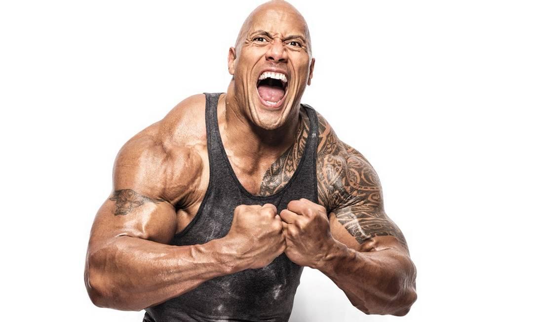 Dwayne Johnson, The Rock: filmes e linha de vestuário fitness Foto: Divulgação