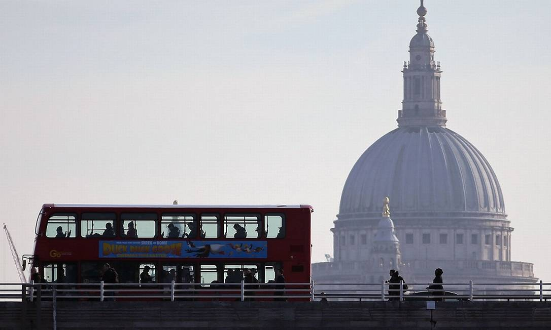 Londres: Reino Unido entra em recessão após queda recorde da economia no segundo trimestre. Foto: DANIEL LEAL-OLIVAS / AFP