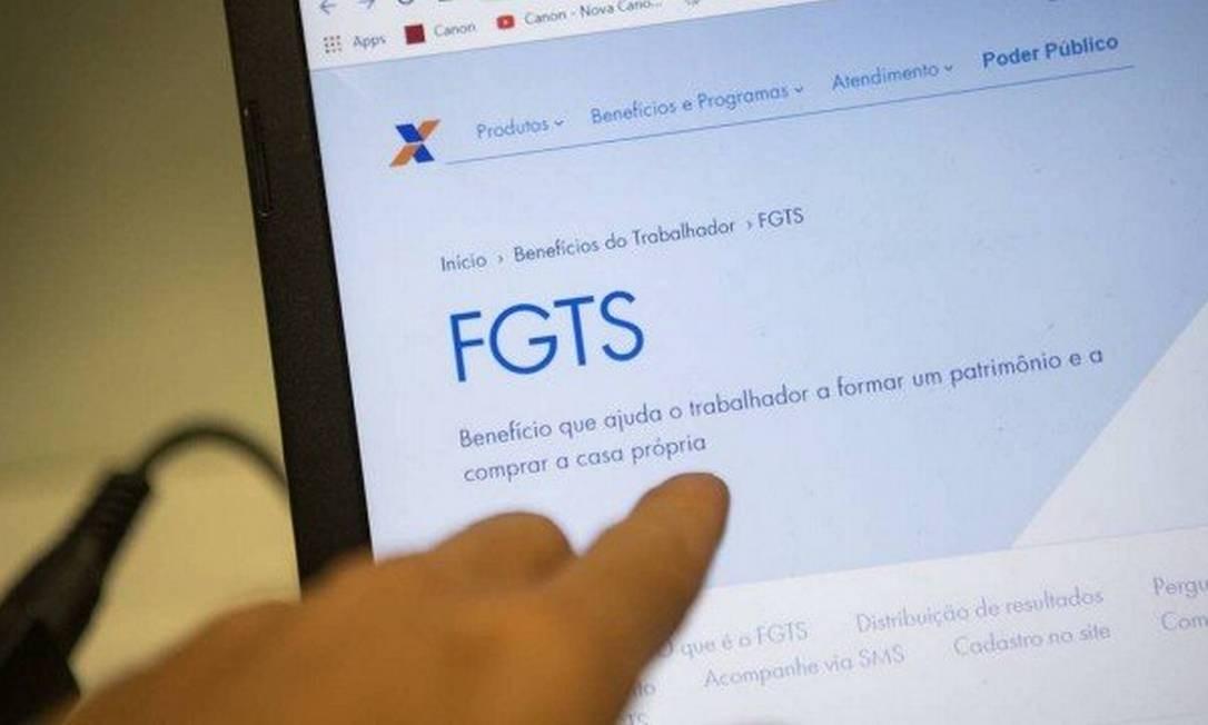 Saque do FGTS: vale refletir antes de retirar o dinheiro. Foto: Arquivo