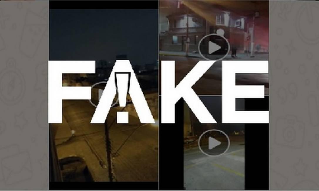 É #FAKE que vídeo mostre Pelotas usando sirene para impor toque de recolher em meio a lockdown Foto: Reprodução