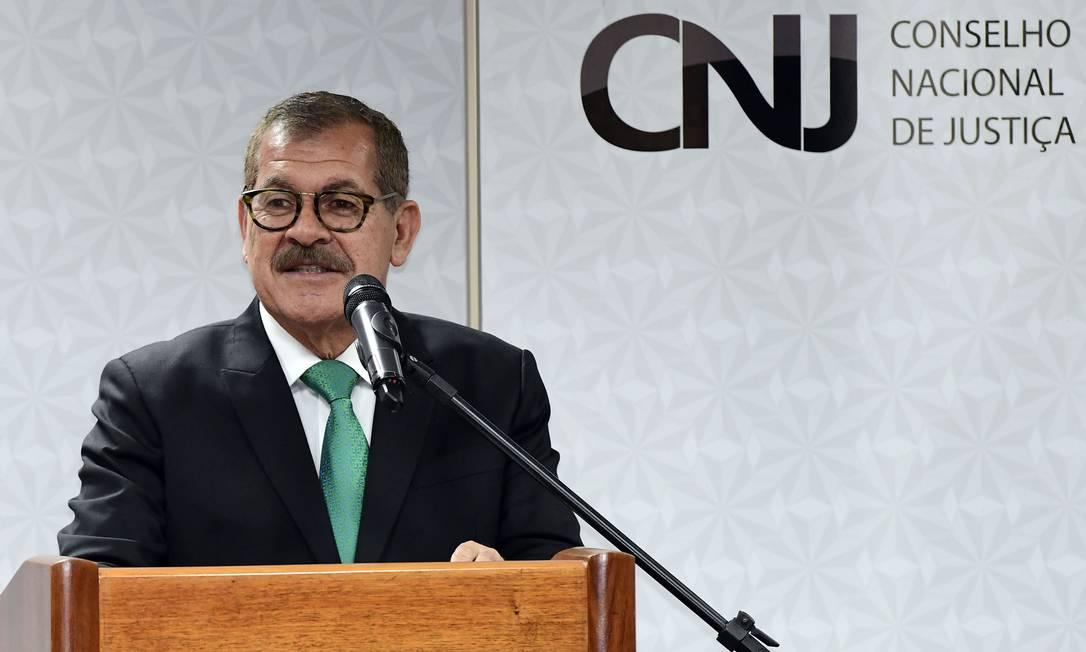 O corregedor nacional de Justiça, ministro Humberto Martins Foto: GUSTAVO LIMA / Filckr STJ