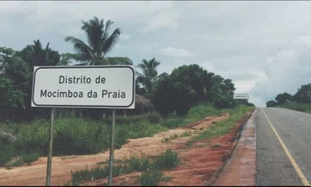 Mocímboa da Praia, em Moçambique Foto: Reprodução