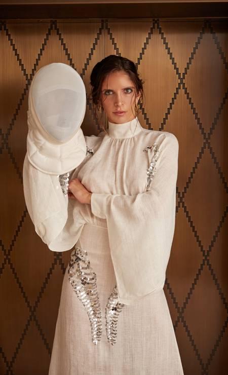 Vestido Prada Foto: Thomas Tebet