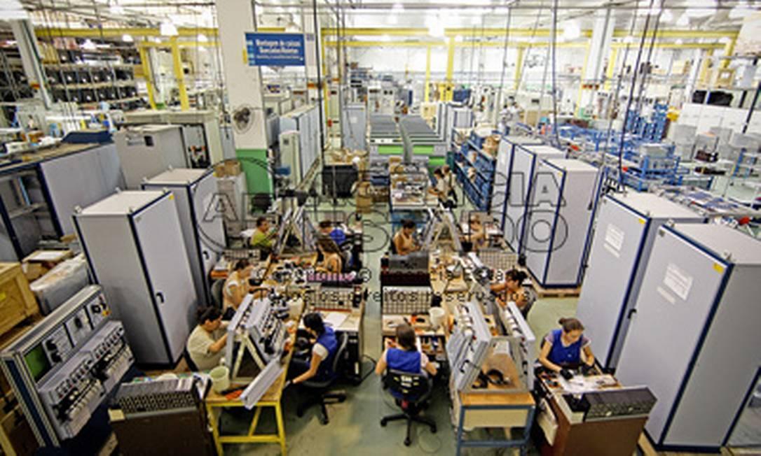 Fábrica de motores em Jaraguá do Sul (SC) Foto: JONNE RORIZ / AE