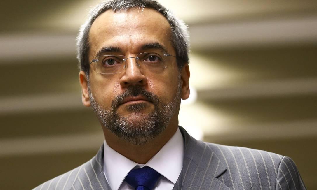 O-ex ministro da Educação, Abraham Weintraub Foto: Marcelo Camargo / Agência O Globo