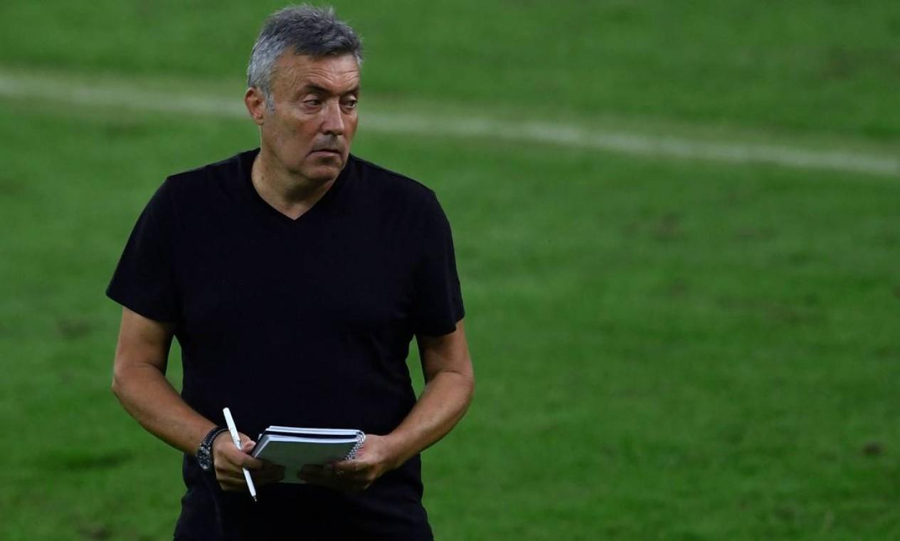 Domènec Torrent, técnico Foto: Mauro Pimentel / AFP