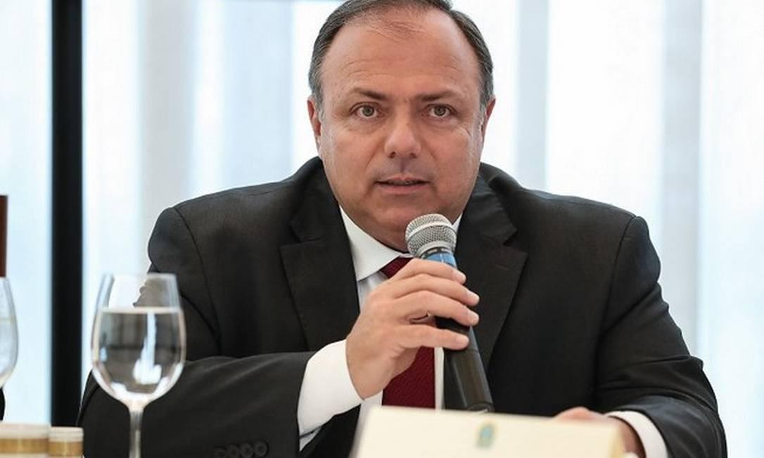 Ministro interino da Saúde, Eduardo Pazuello Foto: Ministério da Saúde/Divulgação