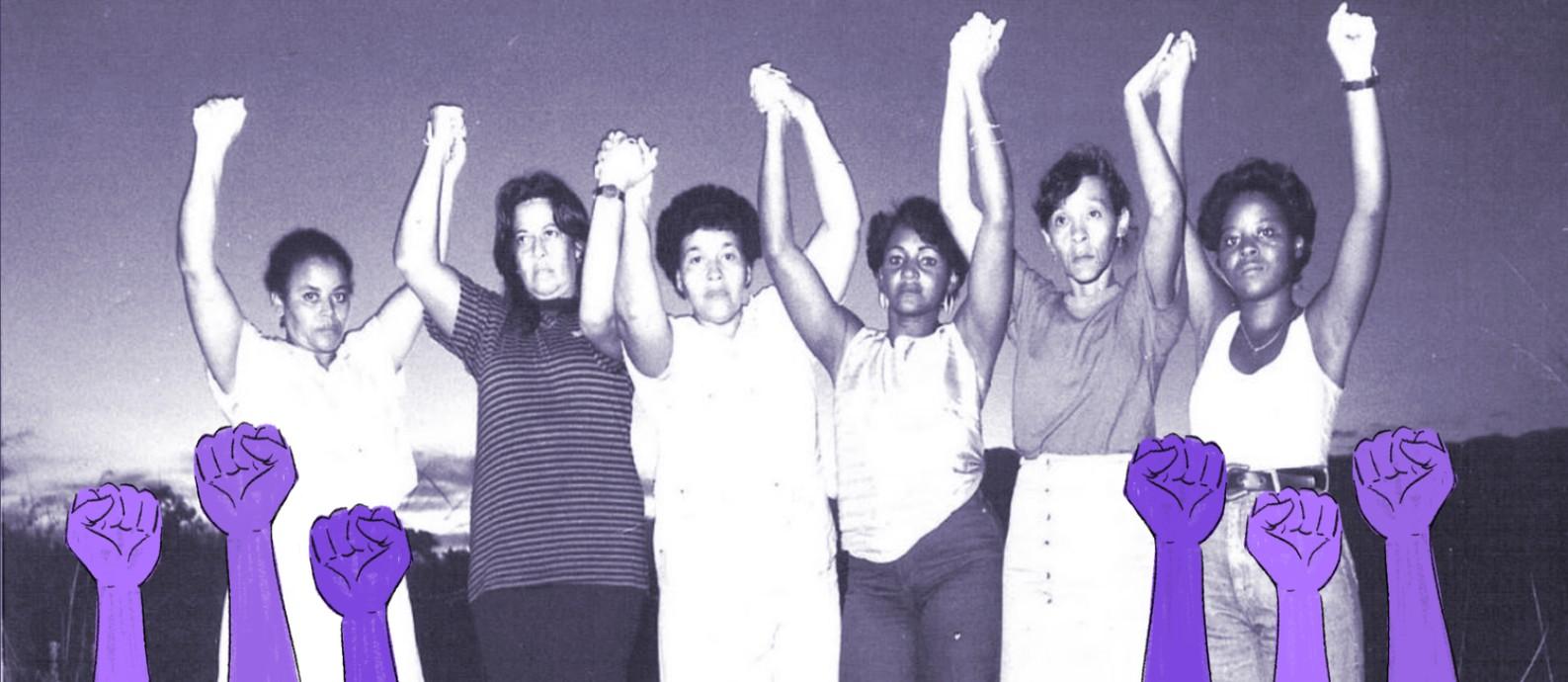 As Mães de Acari criaram uma articulação até então inédita e que influencia até hoje a forma como mães que também perderam seus filhos para a violência cometida por agentes do Estado lutam por Justiça Foto: Arquivo Anistia Internacional