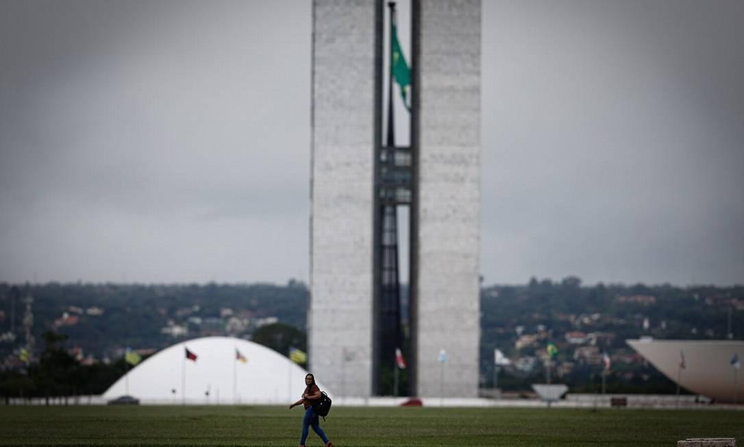 Congresso Nacional: pressão pela reforma administrativa. Foto: Pablo Jacob / Agência O Globo