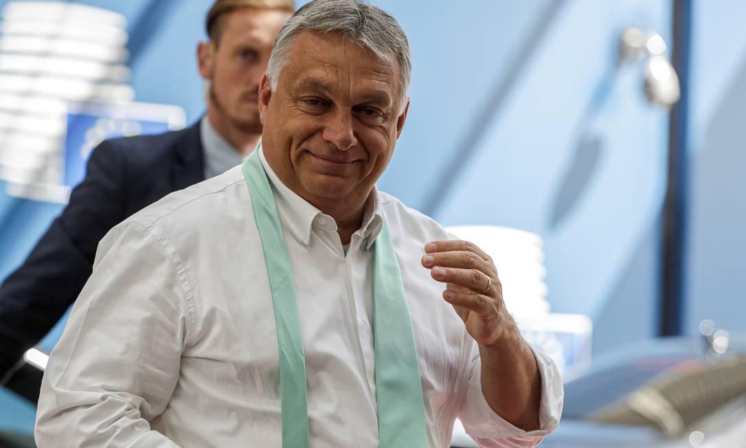 Primeiro-ministro da Hungira Viktor Orban Foto: POOL New / REUTERS