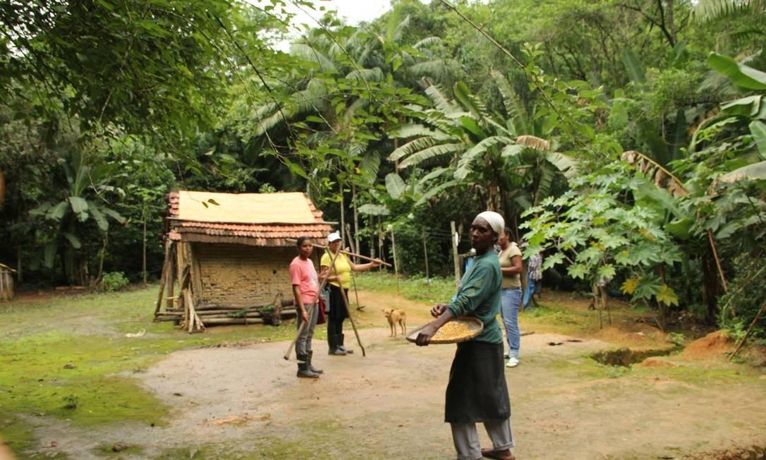 Quilommbo Nhunguara Foto: Gilvani Scatolin/ISA