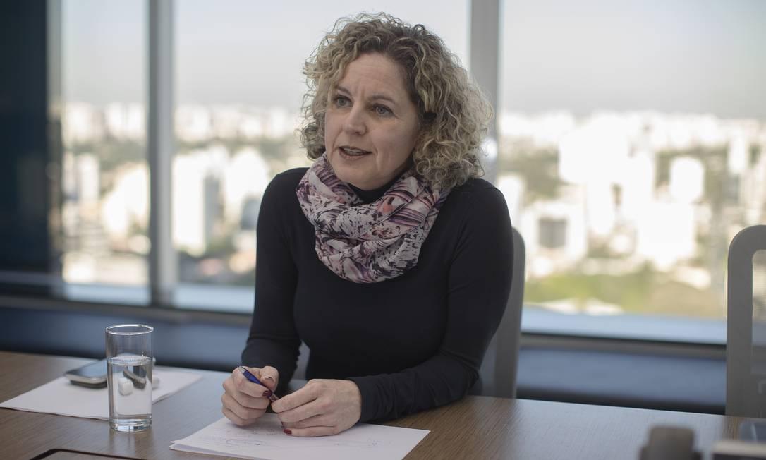 A economista Ana Carla Abrão defende urgência na tramitação da reforma administrativa Foto: Edilson Dantas / Agência O Globo