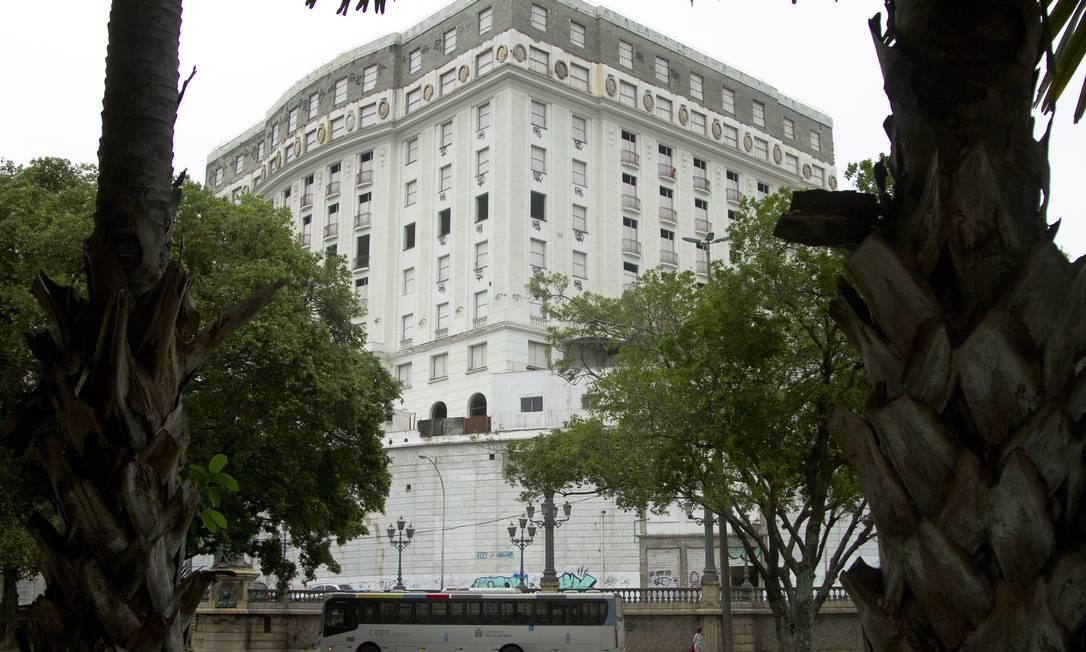 O Hotel Glória deverá ser transformado num residencial pelo Opportunity Fundo de Investimento Imobiliário Foto: André Lima / Agência O Globo